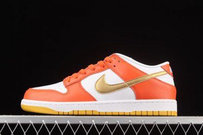 DQ4690-800 Nike Dunk Low Golden Orange White To Buy