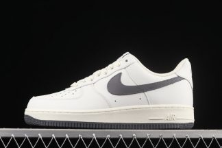 Nike Air Force 1 Low White Grey pas cher