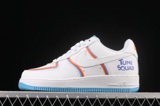 Nike x Space Jam Air Force 1 Low Tune Squad White Blue Orange For Sale