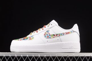 Takashi Murakami x Nike Air Force 1 Low Flower Power White Multi-Color
